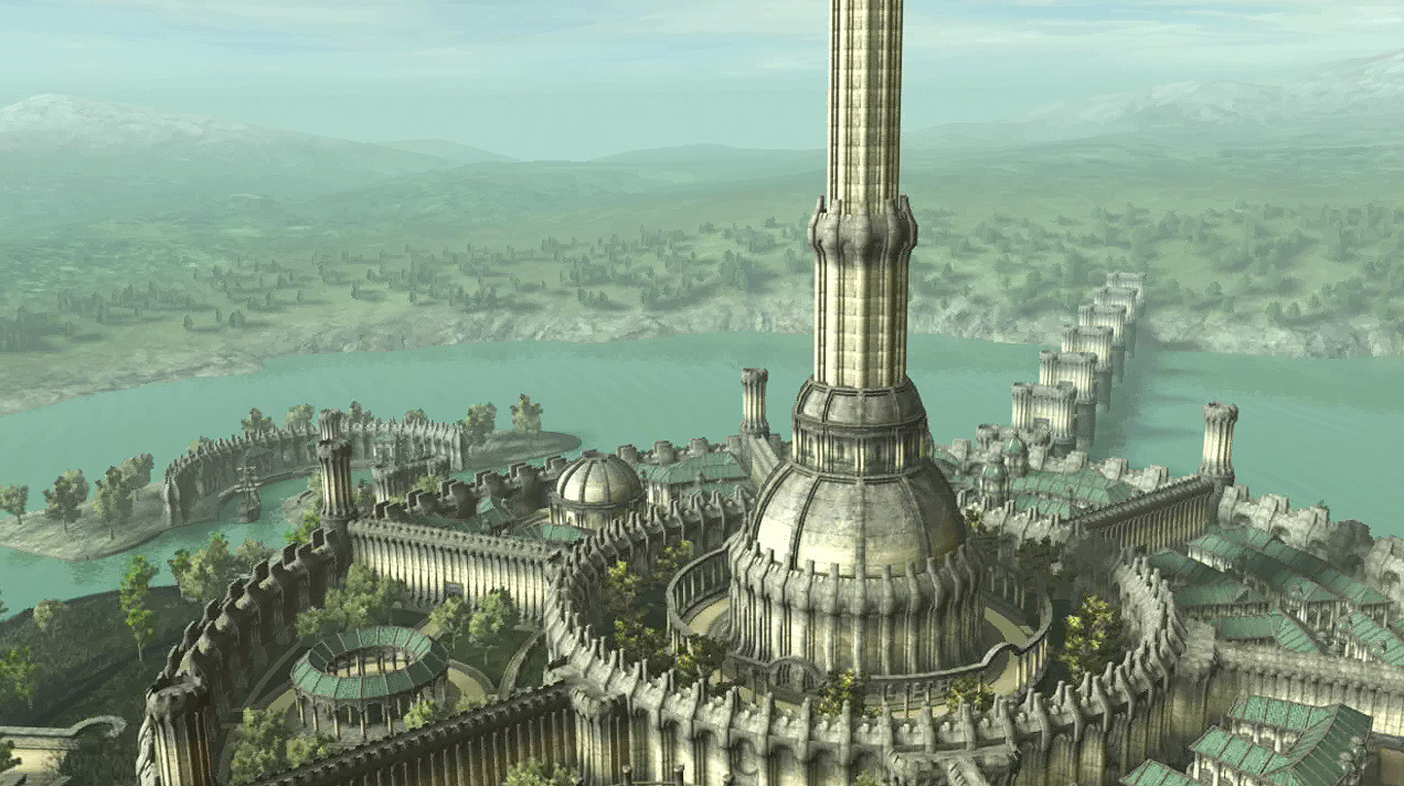 White-Gold-Tower